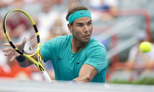 Nadal, Thiem advance in Montreal