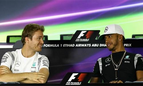 Rosberg, Hamilton primed for desert duel