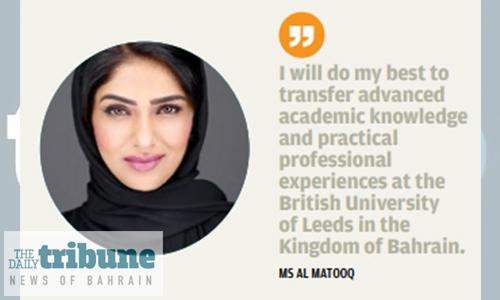 Key academic role for Bahraini woman at UK university