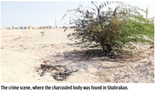 Authorities step up probe in 'charcoaled body' case