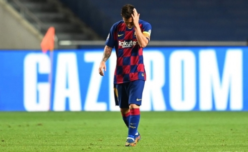 Messi wants to leave Barcelona after Bayern disaster
