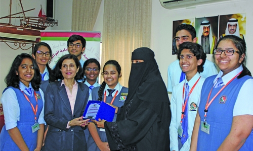 Fervour of charity among NMS-DPS students