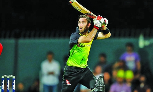 Maxwell century powers Australia to victory