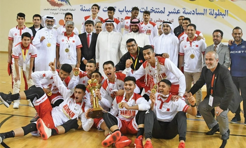 Bahrain national team clinch GCC basketball trophy