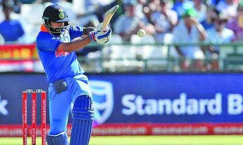 India trample SA again