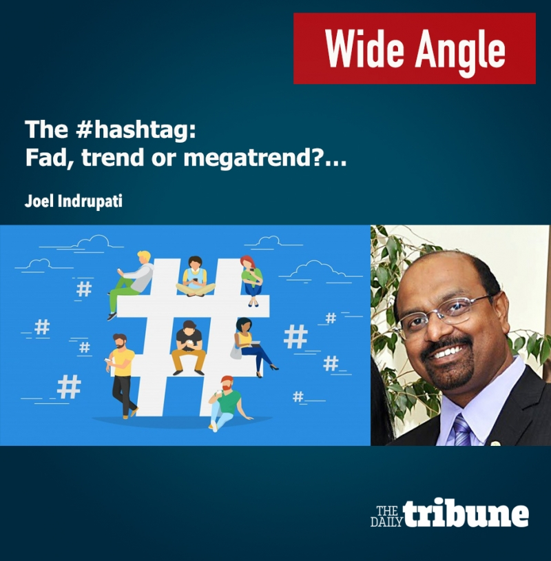 The #hashtag: Fad, trend or megatrend?
