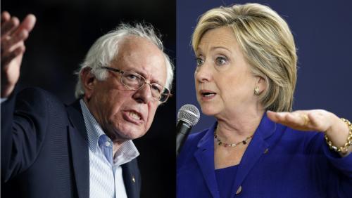 Clinton, Sanders ready for first Democratic presidential debate