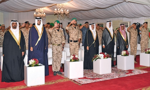 Crown Prince honours Taskforce 11 servicemen