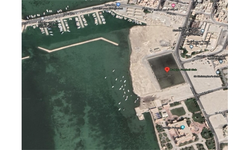 New sports hall at Budaiya Club, football courts for Hamad Town