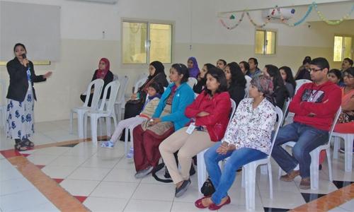 Bahrain Indian School workshop for parents of Grade I