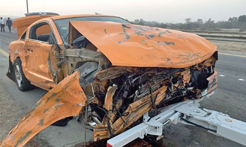 Al Areen accident victims recovering