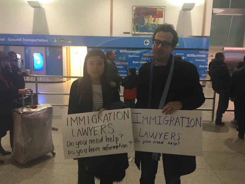 God bless America, and her immigration lawyers