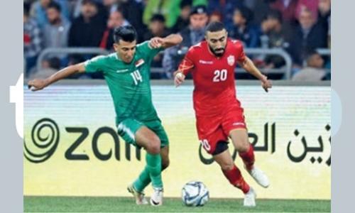 Bahrain goalless again in draw against Iraq