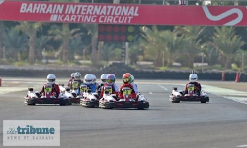 Plenty of thrills in karting sprints