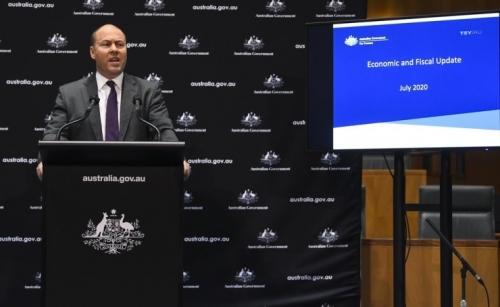 Australia announces biggest budget deficit since World War II