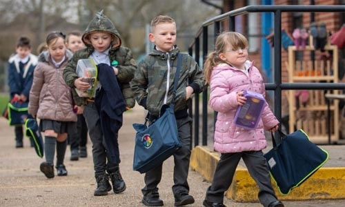 Schools in England reopen for all as nation eases out of lockdown