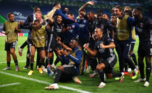 Lyon shock Man City 3-1 to set up Munich CL semi