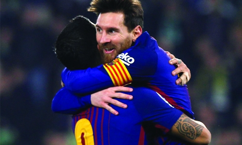 Barcelona crushes Real Betis 5-0