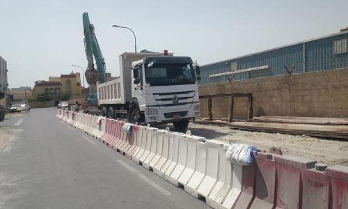 Bahrain rainwater drainage project in full swing