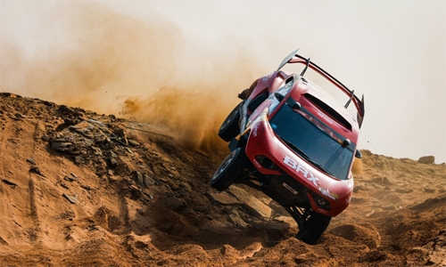 Top five for Roma, but Loeb forced to retire from Dakar