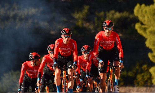 Team Bahrain Victorious all set for UAE Tour ride