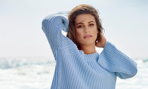 Lea Michele boards ABC'S 'Same Time, Next Christmas' movie