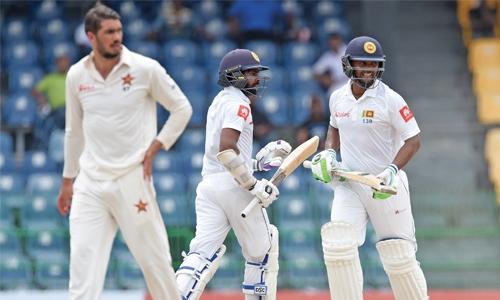 Record win for Sri Lanka