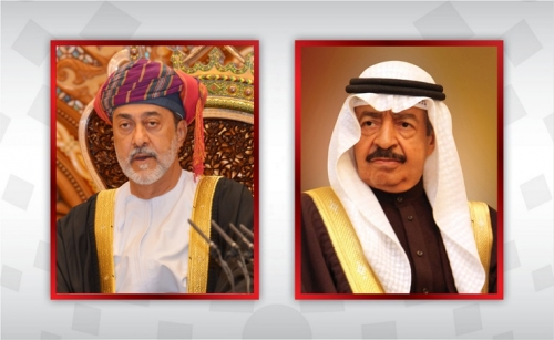 HRH the Premier holds call with Sultan of Oman