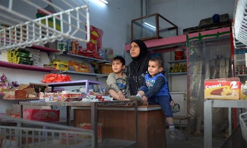 """Umm Mustafa and sons"" shop"