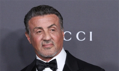 Stallone says hanging up his Rocky gloves