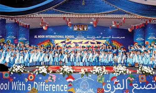 Al Noor KG celebrates graduation