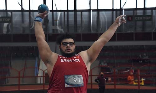 History made! Mahmoud becomes first Bahraini to qualify for shot put at Olympics