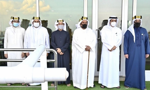 Rashid Equestrian Club holds season's 6th race