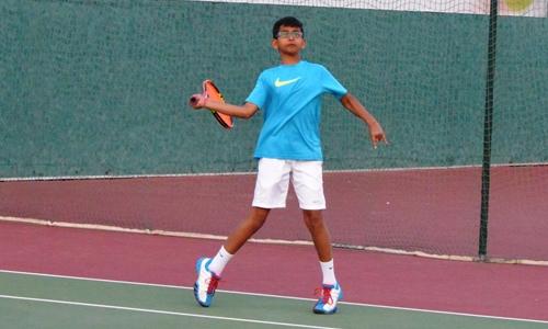 Anshuman wins  Under 14 title