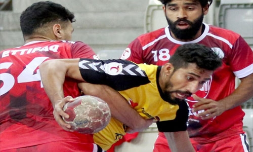 Ahli advance to Khalid bin Hamad Handball Cup semis