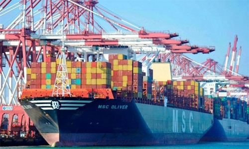 Exports of national products jump 75%, deficit down 71%