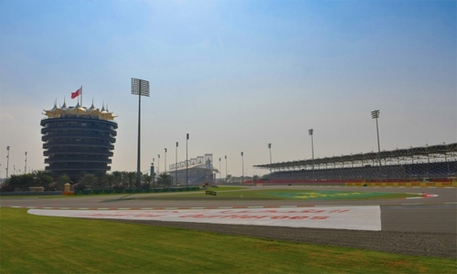BIC's Outer Track set for start of weekend's action in F1 Rolex Sakhir Grand Prix