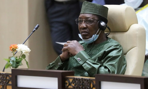 Chad President Idriss Deby dies on front lines, says army spokesman