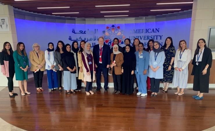 AUBH honors faculty, staff on Bahraini Women's Day