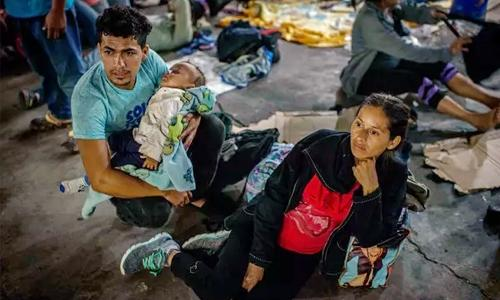 'Criminals?' hardly: That's who the caravan flees