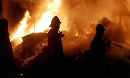 Massive fire breaks out in India's Covid developing facility