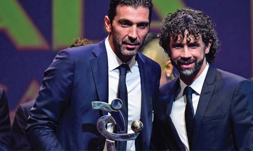 Buffon crowned Best Player as Juve dominate Italian Serie A awards
