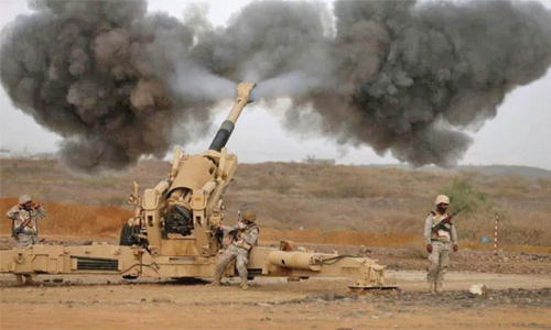 Saudi downs Houthi missile fired at Jizan