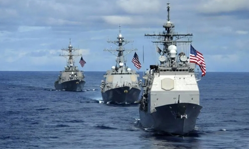 Beijing denounces US warship sail-by in South China Sea