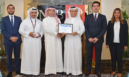 NBB wins Citi Bahrain's performance excellence award