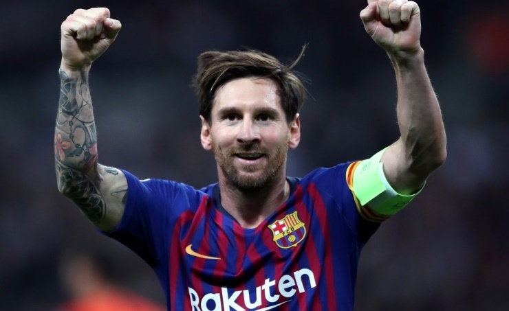 Messi awarded sixth Ballon d'Or