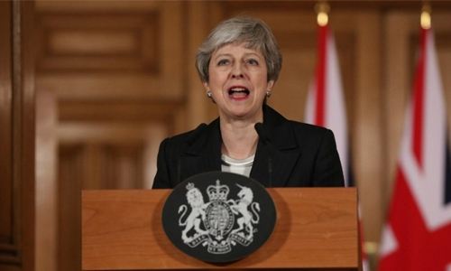 May makes fresh push for Brexit