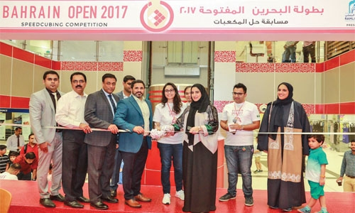 72 participants in Bahrain's first speedcubing competition