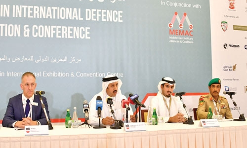 Defence expo begins today in Bahrain