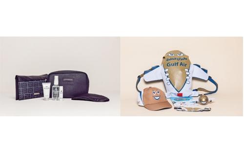 New amenity kits by Gulf Air